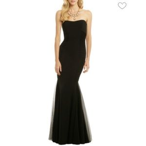Badgley Mischka Curves For Days Black Gown